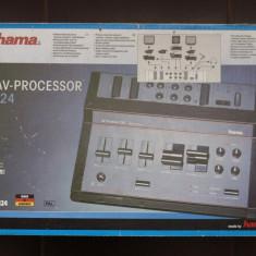 Procesor audio/video Hama 124, nou, in cutia originala