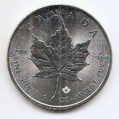 Canada 5 Dollars 2016 - Elizabeth II, Argint  31.11g/999, Aoc1 KM-625 UNC !!!