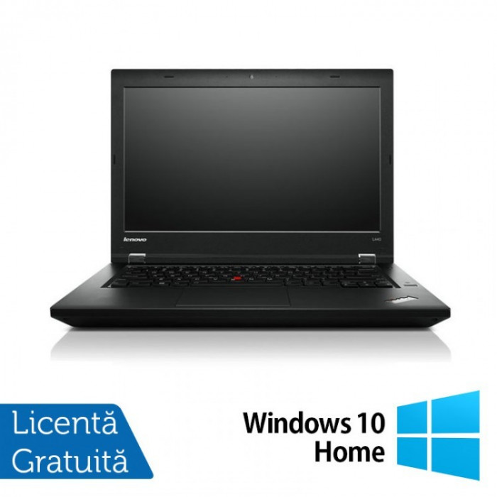 Laptop LENOVO ThinkPad L450, Intel Core i5-5200U 2.20GHz, 8GB DDR3, 120GB SSD, 14 Inch + Windows 10 Home
