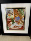 Cumpara ieftin Henri Matisse -Petit Interieur a la Table de Marbre Ronde 1948, semnata