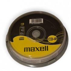 Cd-r maxell 700mb 52x cake 10