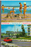 CPI B14703- CARTE POSTALA - ROMANIA. I.H.R. MANGALIA, PLAJA, RESTAURANT CAZINO