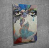 Tablou decorativ, Vega, Canvas 100 procente, lemn 100 procente, 30 x 40 cm, 265VGA1195, Multicolor