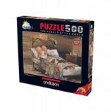 Cumpara ieftin Puzzle Anatolian - No Place Like Home, 500 piese