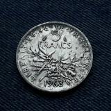 2m - 5 Francs 1963 Franta / argint, Europa