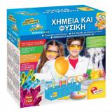 Set stiintific de chimie si fizica, 30x11x30 cm , multicolor