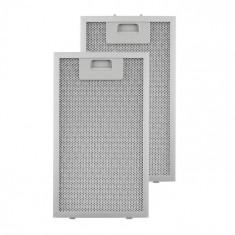 Klarstein KLARSTEIN, filtru de grăsime, filtru de schimb, aluminiu, 18,5 x 31,8 cm, 2 bucăți, accesorii