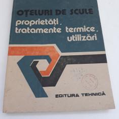 OȚELURI DE SCULE*PROPRIETĂȚI,TRATAMENTE TERMICE,UTILIZĂRI/1990