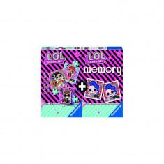 Puzzle cu joc Memory LOL 25/36/49 piese