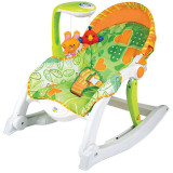 Scaun balansoar pentru bebelusi SmilyPlay AN0858V, Verde