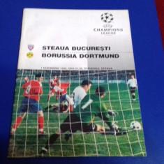 program     Steaua   -  Borussia  Dortmund