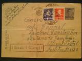 1944-C.P. circ. -CENZURAT CALARASI 1, Necirculata, Printata