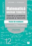 Matematica, clasa a XII-a. Breviar teoretic. Exercitii si probleme propuse si rezolvate. Filiera tehnologica, toate calificarile profesionale/Petre Si