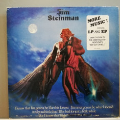Jim Steinman (Meat Loaf) – Bad For Good (1981/CBS/Holland) - Vinil/Impecabil