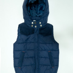 Vesta matlasata, impermeabila, H&M → baieti   8—9 ani   134 cm, 8-9 ani, Bleumarin