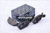 Set placute frana,frana disc VW GOLF IV (1J1) (1997 - 2005) KROTTENDORF KRO1386