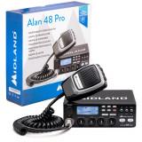 Cumpara ieftin Aproape nou: Statie radio CB Midland Alan 48 Pro cu ASQ Digital, AM/FM, Noise Blank