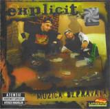 Vand cd Explicit – Muzică Depravată,original,holograma