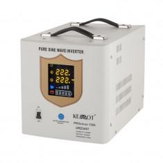 UPS pentru centrale termice Kemo, sinus pur, 1200 W, Alb, Kemot