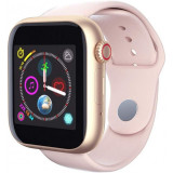 Cumpara ieftin Ceas Smartwatch cu telefon iUni Z6S, Touchscreen, Bluetooth, Notificari, Camera, Pedometru, Pink