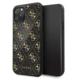 Cumpara ieftin Husa Guess iPhone 11 Pro, Double Layer Glitter