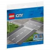LEGO City Intersectie Dreapta si in T 60236