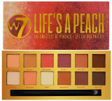 Cumpara ieftin Paleta farduri de pleoape mate W7 Life`s A Peach, 14 culori