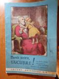 carte pentru copii anii 1930 - buna searataticile-editura univesul