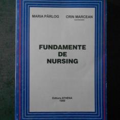MARIA PARLOG - FUNDAMENTE DE NURSING