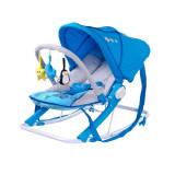 Scaun balansoar pentru bebelusi Caretero AQUA SBCA-A, Albastru