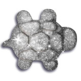 Nisip Kinetic Metale Si Minerale Stralucitoare Argintiu
