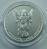 UCRAINA - 1 Hryvnia 2014 - Arhanghelul Mihail - uncie argint 31.1 gr. - 999/1000