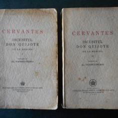 CERVANTES - ISCUSITUL DON QUIJOTE DE LA MANCHA (1944, trad. Al. Popescu-Telega)