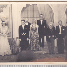 bnk foto - Piesa de teatru anii `40 - actori