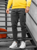 Pantaloni de trening bărbați grafit Bolf JX8651