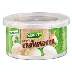 Pate cu Ciuperci Champignon Bio Dennree 125gr Cod: 411669
