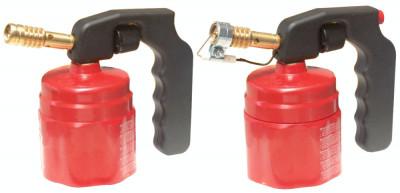 Lampa pentru lipit Oxylaser din plastic EVOTOOLS, aprindere simpla, rosie, 0.7 kg, 660346 foto