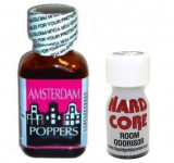 AMSTERDAM + HARD CORE Poppers, aroma camera, ORIGINAL, SIGILAT, rush, popers
