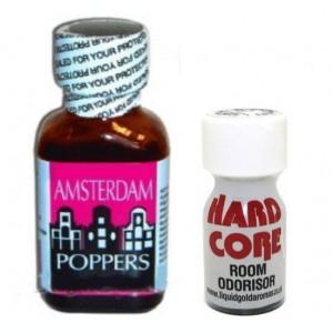 AMSTERDAM + HARD CORE POPPERS, AROMA CAMERA, ORIGINAL, SIGILAT, rush, popers