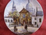 FARFURIE PORTELAN LIMOGES FRANTA  SACRE COEUR DE MONTMARTE BRADEX LOUIS DALI