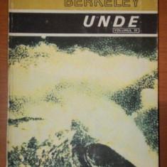CURSUL DE FIZICA BERKELEY , VOLUMUL 3 , UNDE ,BUC.1983 , LIPITA PE COTOR CU SCOTCH