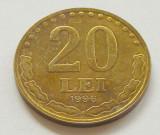 T493 ROMANIA 20 LEI 1996 aUNC APROAPE NECIRCULATA cu luciu si patina, Cupru-Nichel