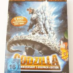 Filme DVD colectie Godzilla 50th Anniversary Edition Digipack 5 discuri