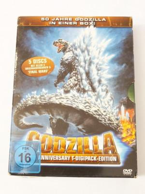 Filme DVD colectie Godzilla 50th Anniversary Edition Digipack 5 discuri foto