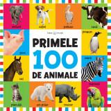 Bebe învață. Primele 100 de animale (format mare)