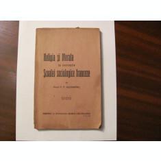 "GE P. F. Alexandru ""Religia si Morala in Conceptia Scoalei Sociologice Franceze"""