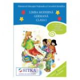 CD AUDIO pentru Limba moderna Germana, Clasa I Partea I + Partea a II-a
