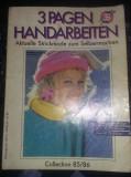 Revista TRICOTAJE,3 Pagen handarbeiten Mode Vintage Retro Strickmode,T.GRATUIT