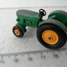 bnk jc Matchbox 50b John Deere Lanz Tractor