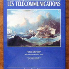 LES GRANDES DECOUVERTES. LES TELECOMMUNICATIONS - CATHERINE BERTHO LAVENIR (CARTE IN LIMBA FRANCEZA)